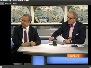 Bloomberg Screen Shot, Graham Arader, Tom Keene