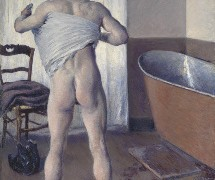 Museum of Fine Arts Boston De-accesses European Works to Purchase of Man at His Bath by Caillebotte