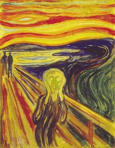 This version, executed in 1910 in tempera on cardboard, was stolen from the Munch Museum in 2004, and recovered in 2006. (Wikipedia)