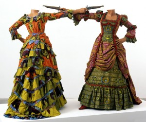 Yinka Shonibare MBE, How to Blow Up Two Heads at Once (Ladies), 2006.