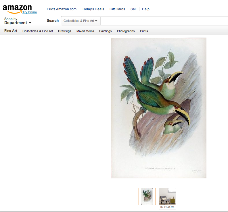 Amazon Art Screen Shot