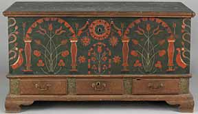 Berks County Dower Chest (A record breaker)