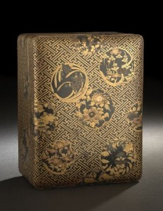 A Japanese Lacquer Storage Box from New Orleans Auction
