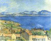 The Bay of Marseille, Seen from L'Estaque, c. 1885