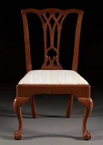 A Philadelphia Chippendale chair from Alex Cooper