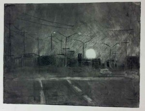 Drypoint by Eric Miller SMU Peter Ligon