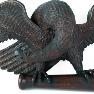 Pennsylvania Carved Eagle at Pook & Pook