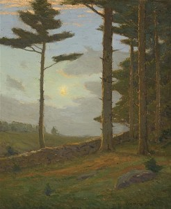 "Lot 25 ""September Sunlight"" by Charles Warren Eaton, Another blue chip"