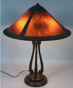 Handel Lamp Base with Van Erp Shade