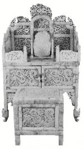 Han Qing Chair and Dressing Table