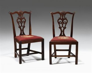 Pair of Chairs at Freemans