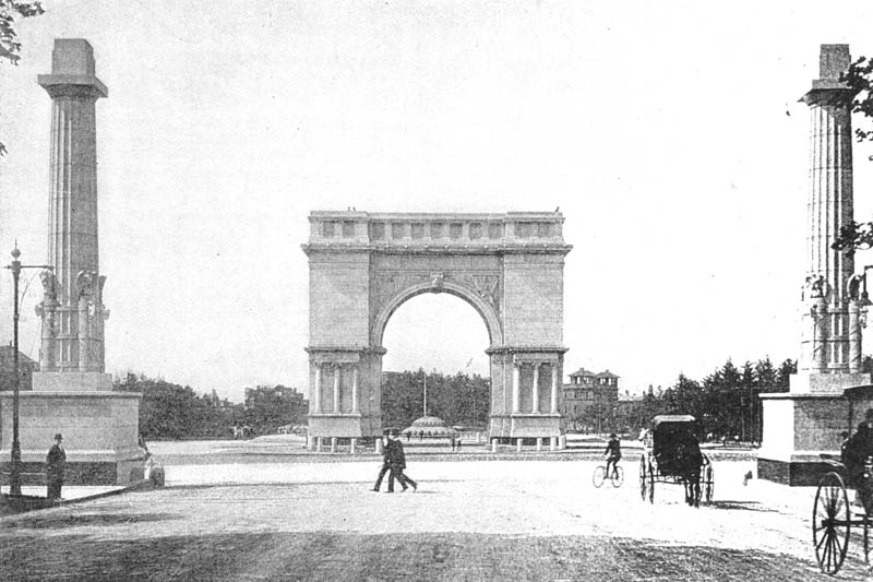 The Vanishing Points — The Transformation of Grand Army Plaza Through Viewing Vintage Postcards