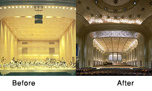 Severance Hall (Before and After)