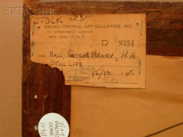 A label from Grand Central Gallery