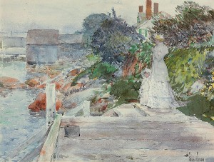 Ocean Front, Gloucester, MA by Childe Hassam