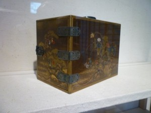 Exquisite Japanese box at Hackerman House of Walters Art Museum
