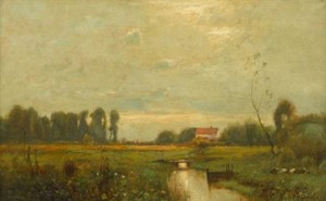 A Countryside Landscape by J. Francis Murphy