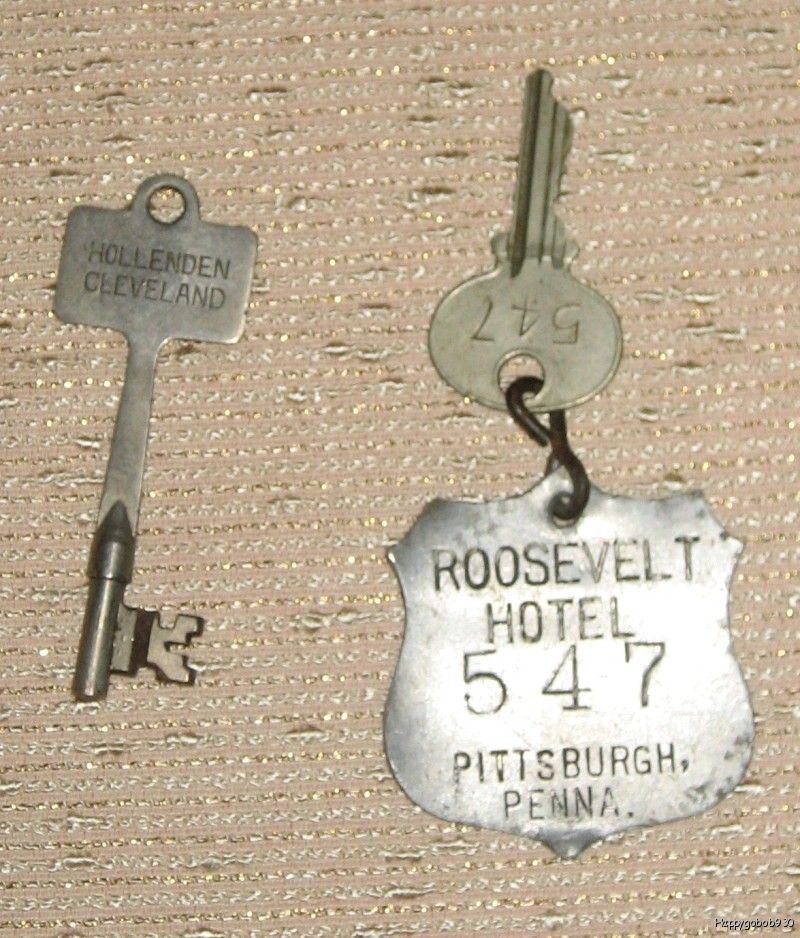 The Key to the Roosevelt Hotel of Pittsburgh