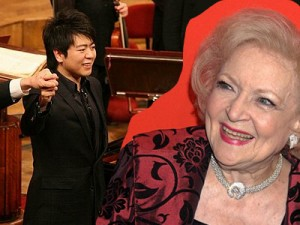 Betty White by By David Shankbone 2010, Lang Lang by Chancellery of the President of the Republic of Poland Wiki Commons