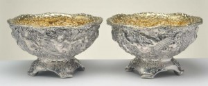 A Pair of Tiffany Silver Center Bowls Morphy Auctions