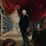 The Artist in His Museum by Charles Willson Peale