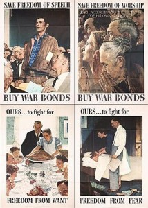 Norman Rocwell's Four Freedoms