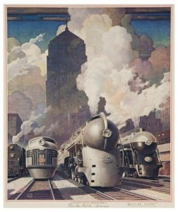 New York Central Poster from Bloomsbury Auctions