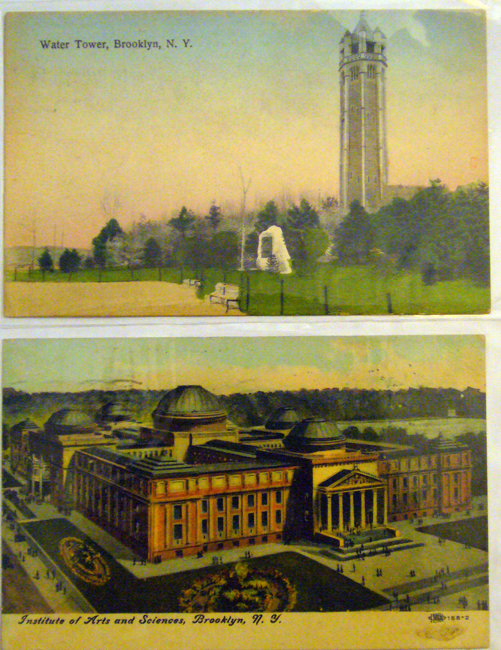 Changes in American Postcards