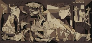 picasso_guernica_tapestry-San Antonio Museum of Art Reckefeller
