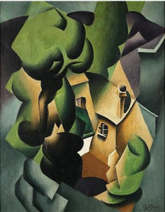 A Painting by Jean Metzinger French, Top Sold Lot at Doyle for $600,000 Without Premium, Still $100,000 Below Low Estimation