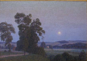 Moonlight Nocturne by Christian Walter, the Top Lot at Concert Art Gallery auction