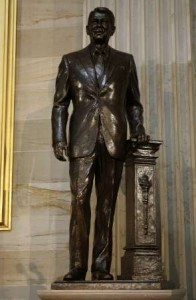 Reagan added to Statuary Hall in U.S. Capitol