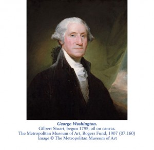 George Washington by Gilbert Stuart from Met