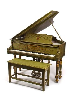 A grand Steinway Art Case Model M piano