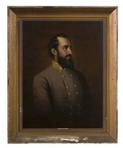 This portrait of Stonewall Jackson seems a bargain at $2100