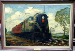 "Grif Teller,""Speed, Safety, and Comfort,"" To be auctioned at William Bunch, Dec. 8"