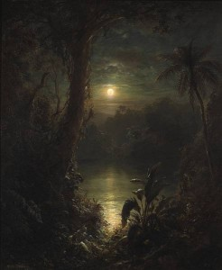 Tropical Moonlight by Frederick Church, Top Lot at Bonhams
