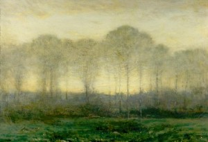 Morning by Dwight William Tryon (Courtesy to Peabody Institute)