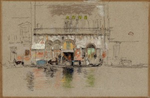 James McNeill Whistler, White and Pink (The Palace), 1879/1880, pastel and black chalk, National Gallery of Art, Washington, Paul Mellon Fund and Patrons' Permanent Fund