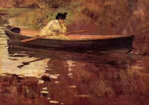 William Merritt Chase, Prospect Park Scene