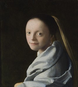 Study of a Young Woman by Vermeer